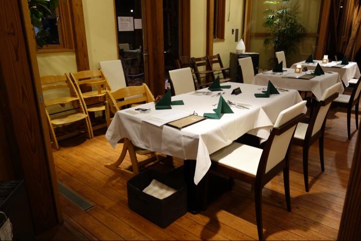 FUJIYAMA KITCHENでディナーを堪能