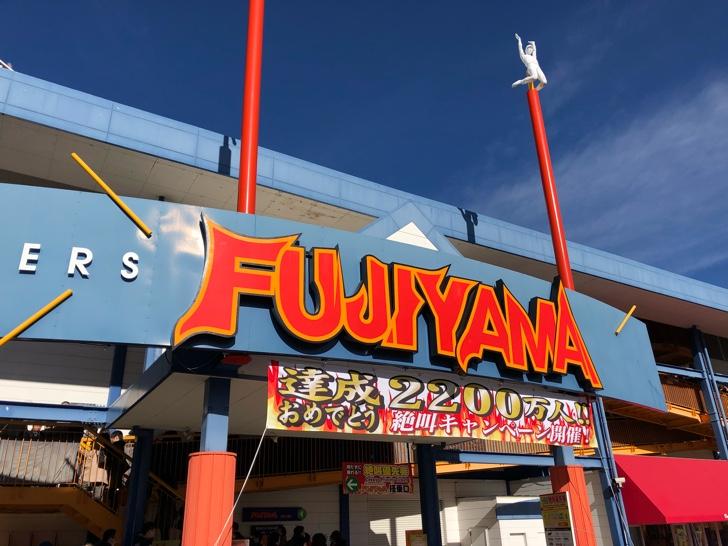 富士急ハイランドの名物「FUJIYAMA」