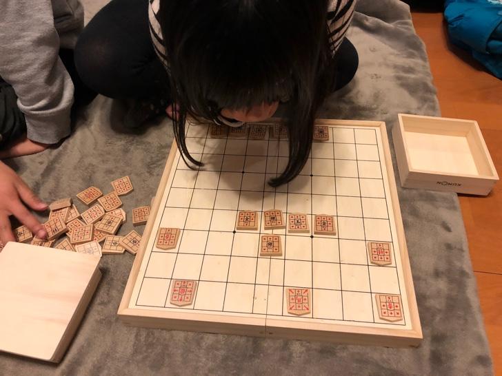 自宅で将棋に挑戦
