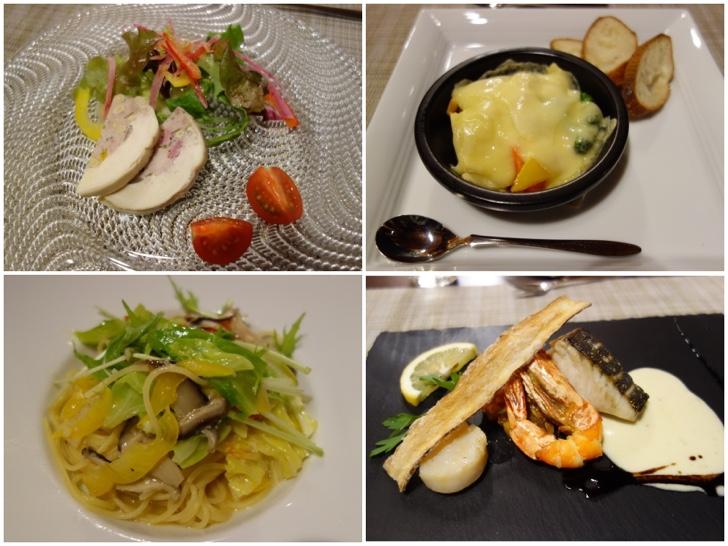 PICA山中湖ヴィレッジ2泊目のコース料理