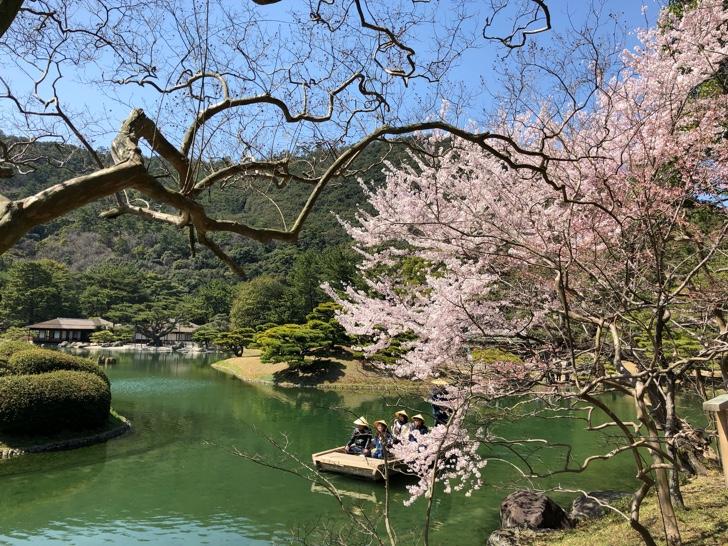 香川県を代表する日本庭園が見事