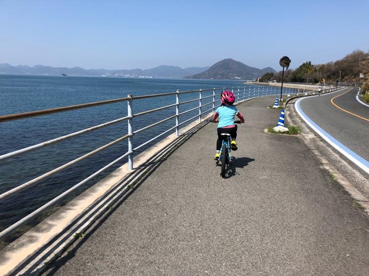 レンタサイクルでしまなみ海道をサイクリング