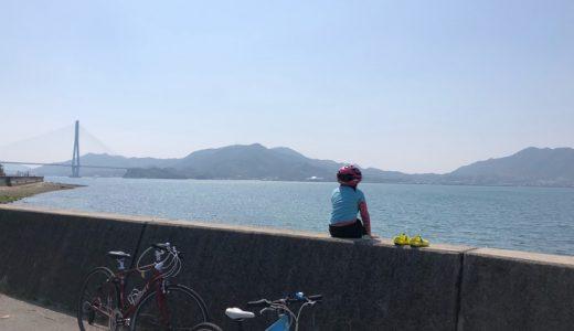 しまなみ海道をサイクリングしたら海辺でキャンプしたくなった