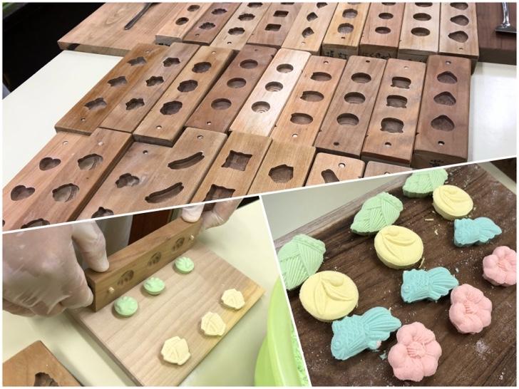 讃岐の和三盆を使った干菓子作り体験