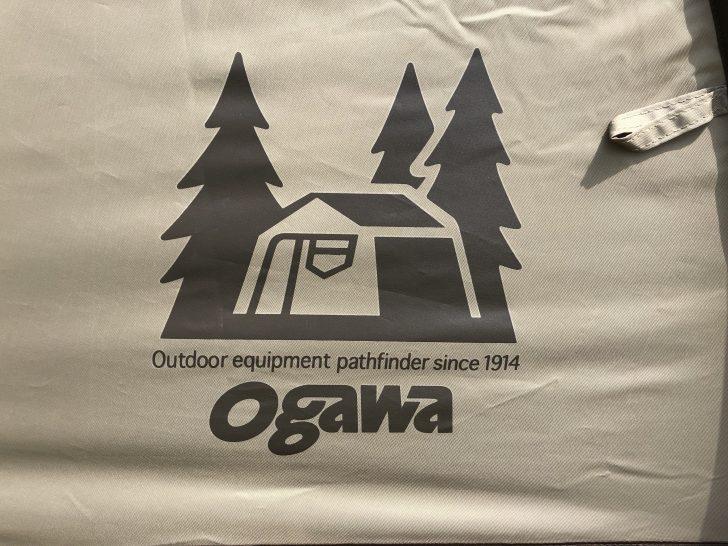 ogawaのロゴはシックでオシャレ