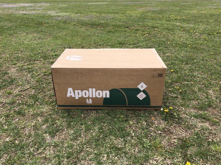 NSP野田市スポーツ公園でアポロンを開封