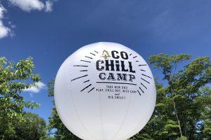 アコチルキャンプ2018の風船