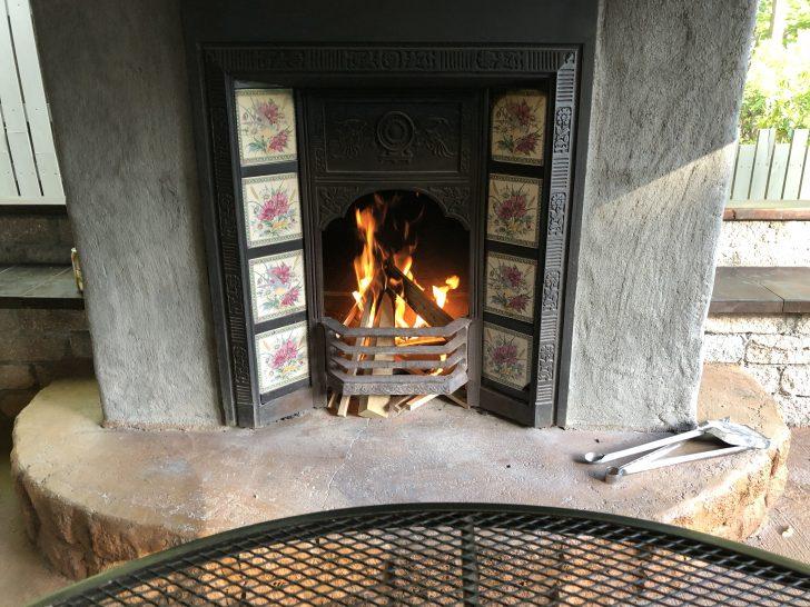 C&C那須高原のカントリーキャビン語らいの暖炉