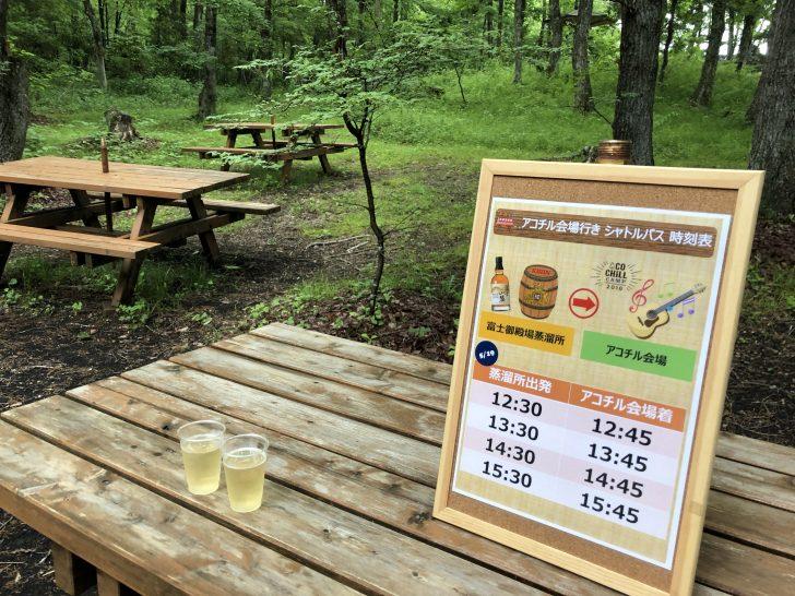 アコチル限定のウイスキー試飲会