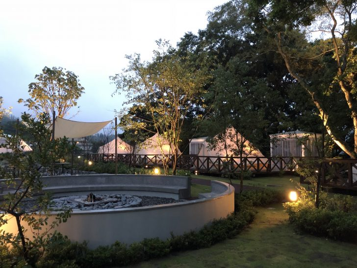 ufufu village夕方の雰囲気