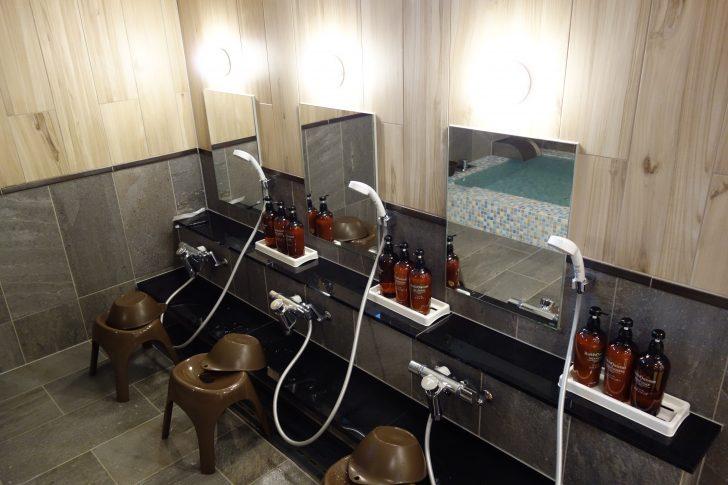ufufu villageの男性用洗い場