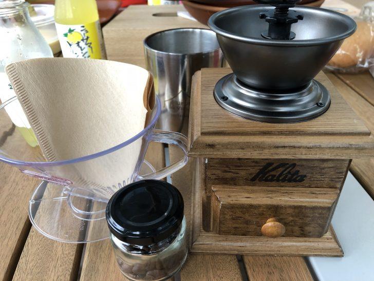 ufufu villageでコーヒーミルを初体験