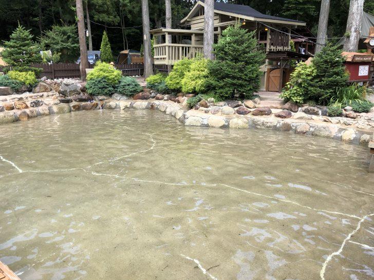 C&C那須高原のじゃぶじゃぶ池が気持ち良い