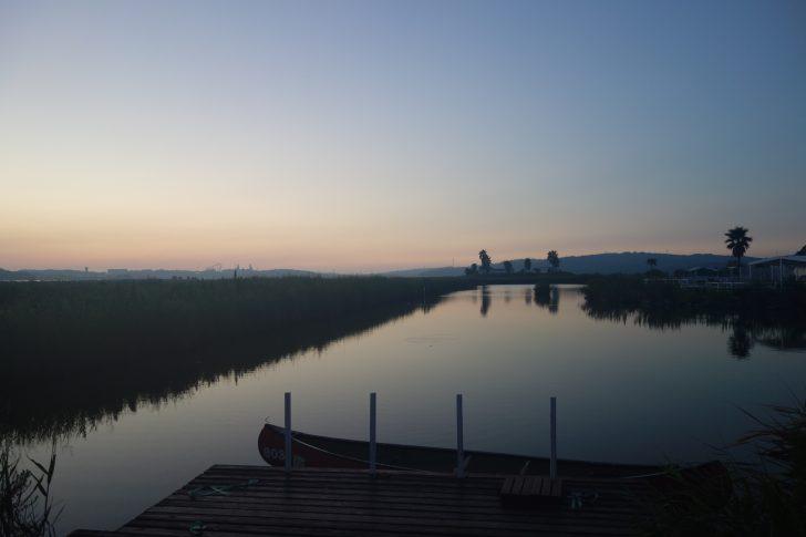 伊勢志摩エバーグレイズで迎える晴れた朝