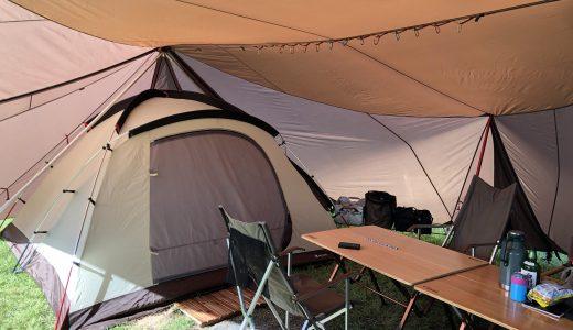 キャンプの機会が減って不要な道具を手放したら倉庫がスッキリ