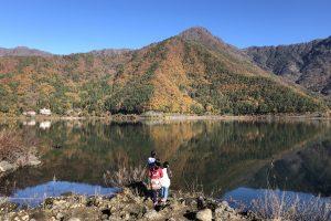 PICA富士西湖から眺める穏やかな西湖
