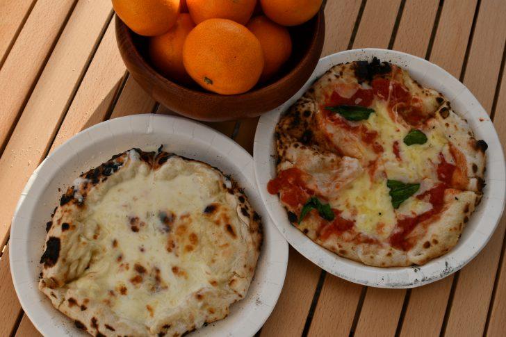 竜洋海洋公園で売っていた朝食のピザ