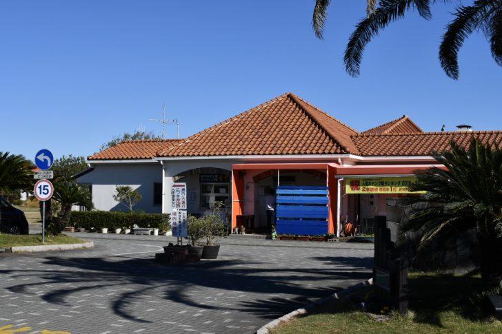 竜洋海洋公園オートキャンプ場の管理棟