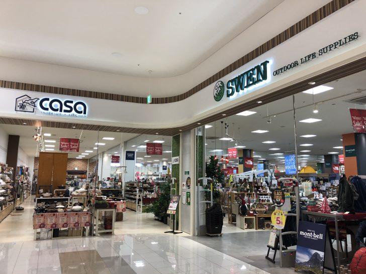 アウトドアショップSWENイオンモール浜松市野店