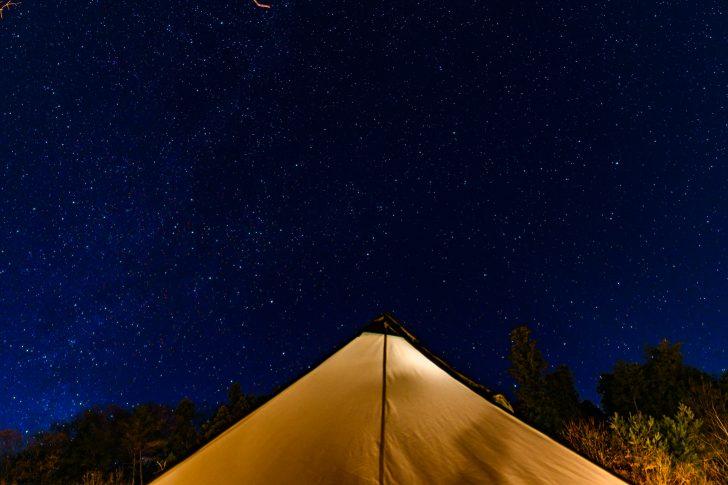 グロッケと冬の星空