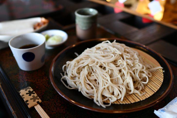 那須街道沿いの五色庵で少し早めの年越し蕎麦