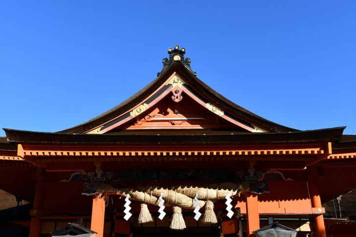 富士山本宮浅間大社で初詣
