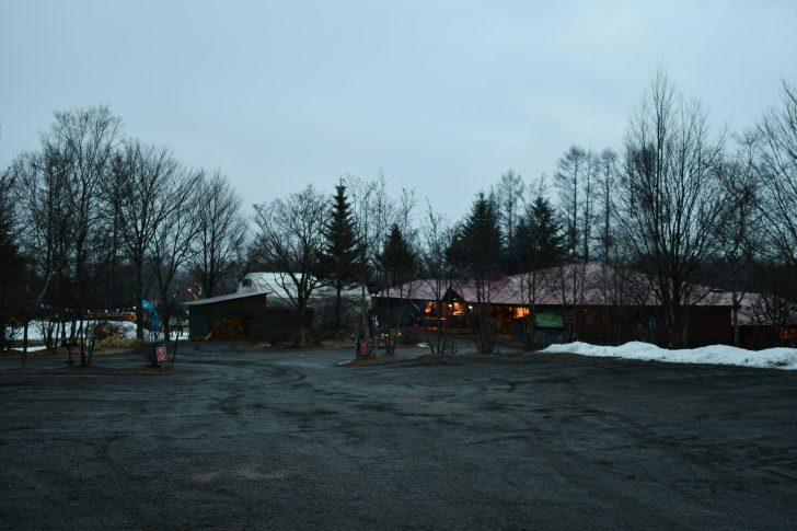 積雪のほとんどない北軽井沢スウィートグラス