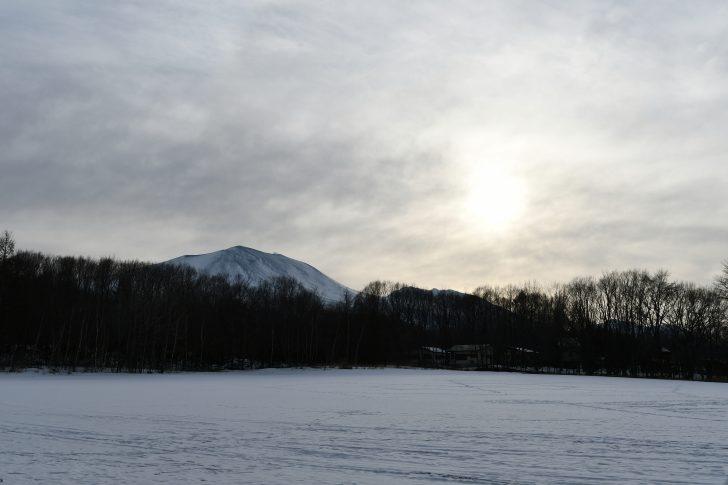 北軽井沢スウィートグラスから眺める浅間山