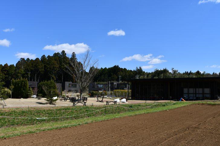 THE FARMの農園とコテージ