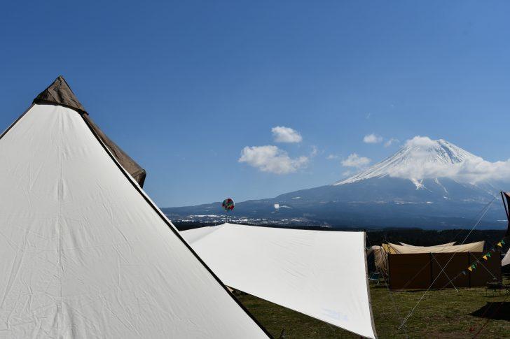 富士山とグロッケと山渓レクタ