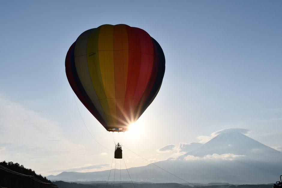 GO OUT JAMBOREE 2019の熱気球