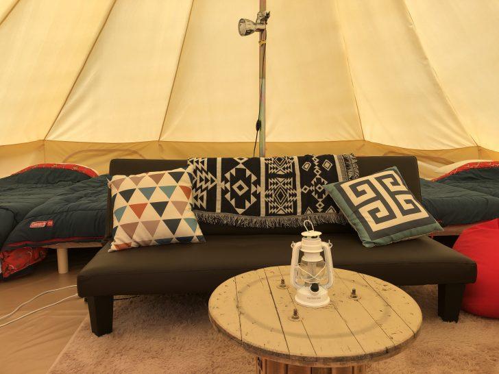 BUB CAMP GROUNDのグランピングテント