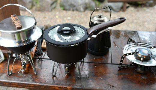 ティファールでキャンプ!お湯が出なくても洗いやすいから春秋に便利