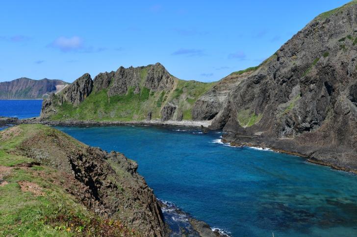 礼文島の観光名所「澄海岬」