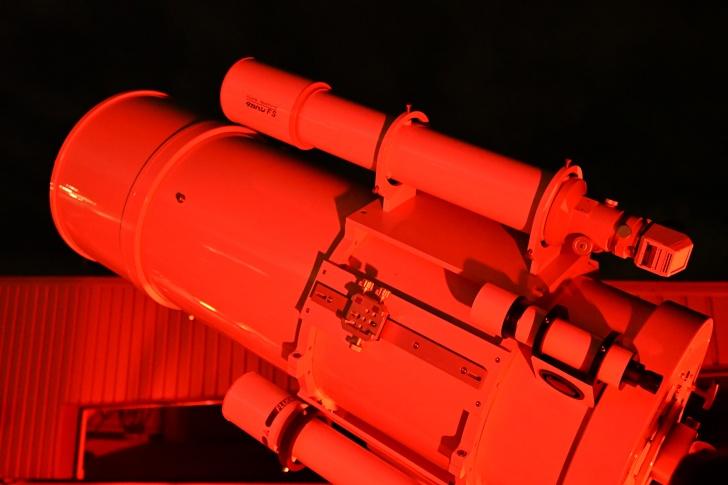 口径50cmの反射式望遠鏡「きたてらす望遠鏡」