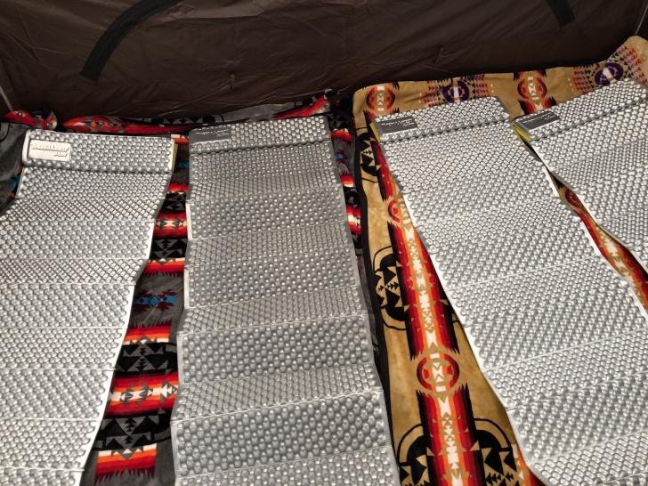 グロッケ12T/Cハーフインナーの寝床作り
