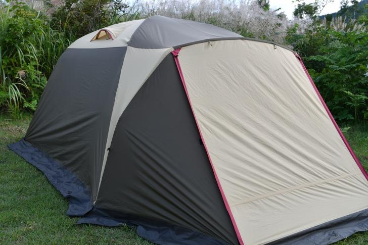 テントのポールを忘れogawaピスタ5をレンタル