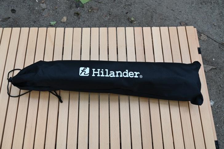 ハイランダーのシンプルな収納袋