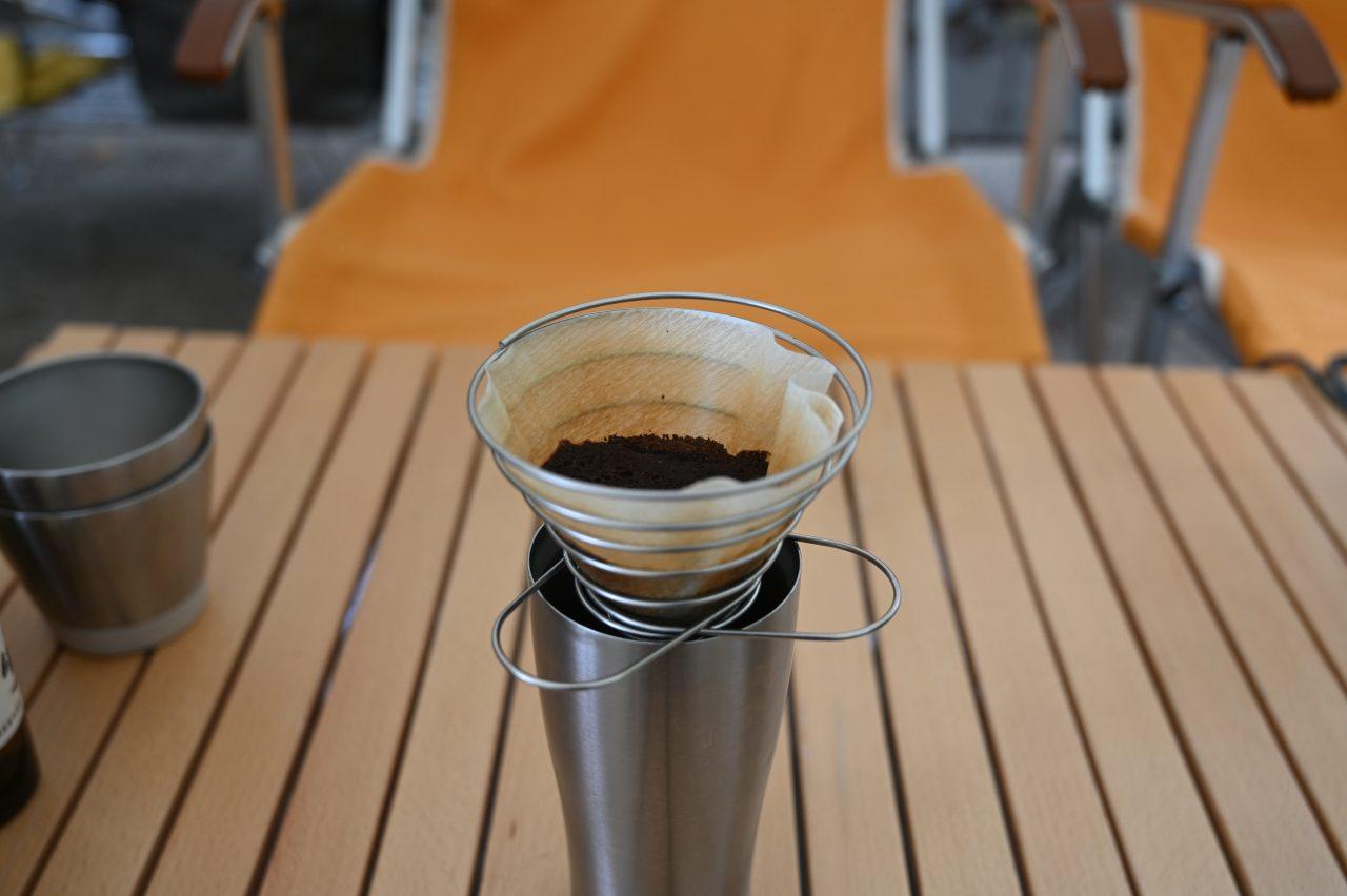 目覚めの一杯は挽きたての朝コーヒー