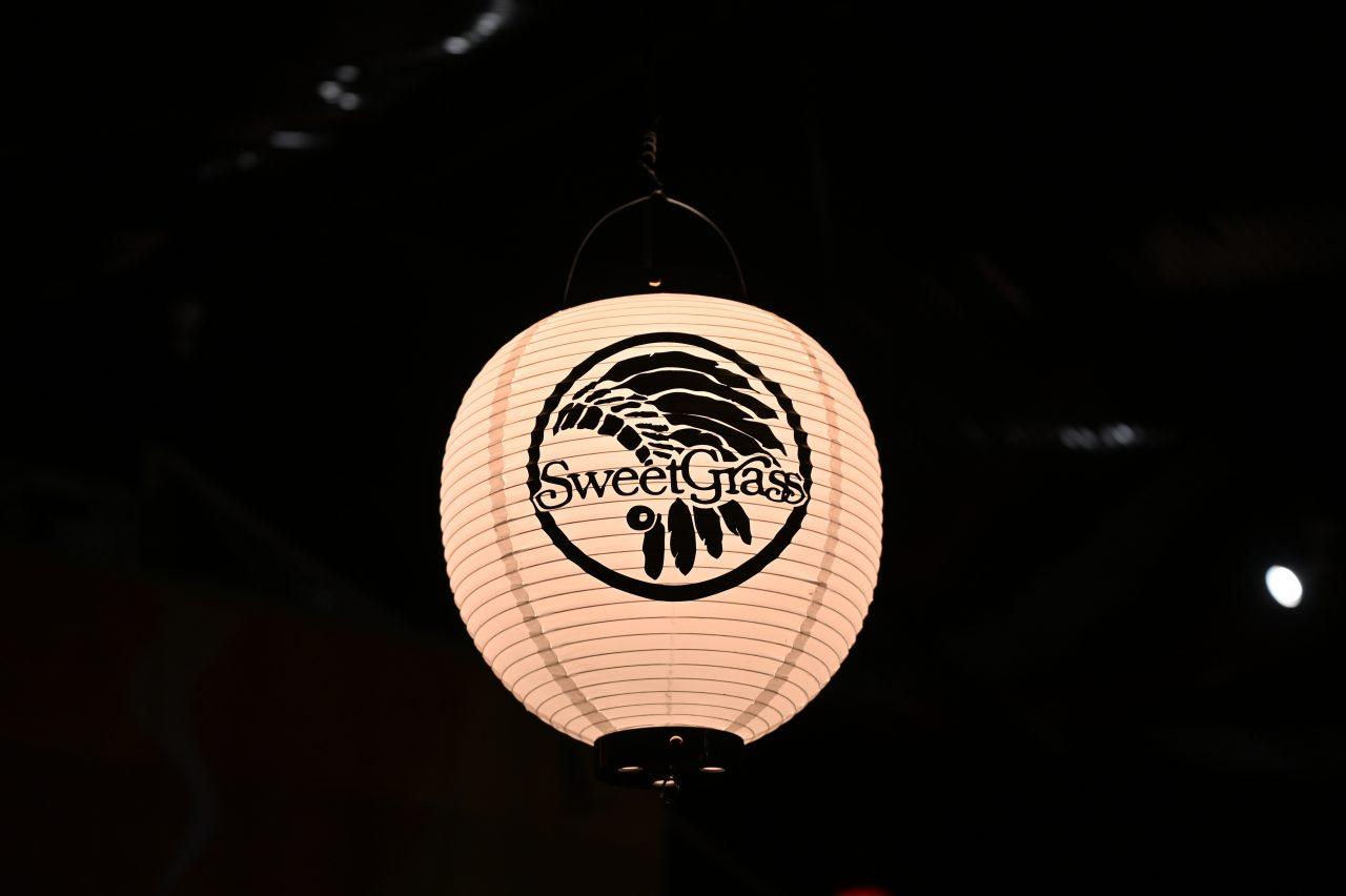 北軽井沢スウィートグラスの提灯