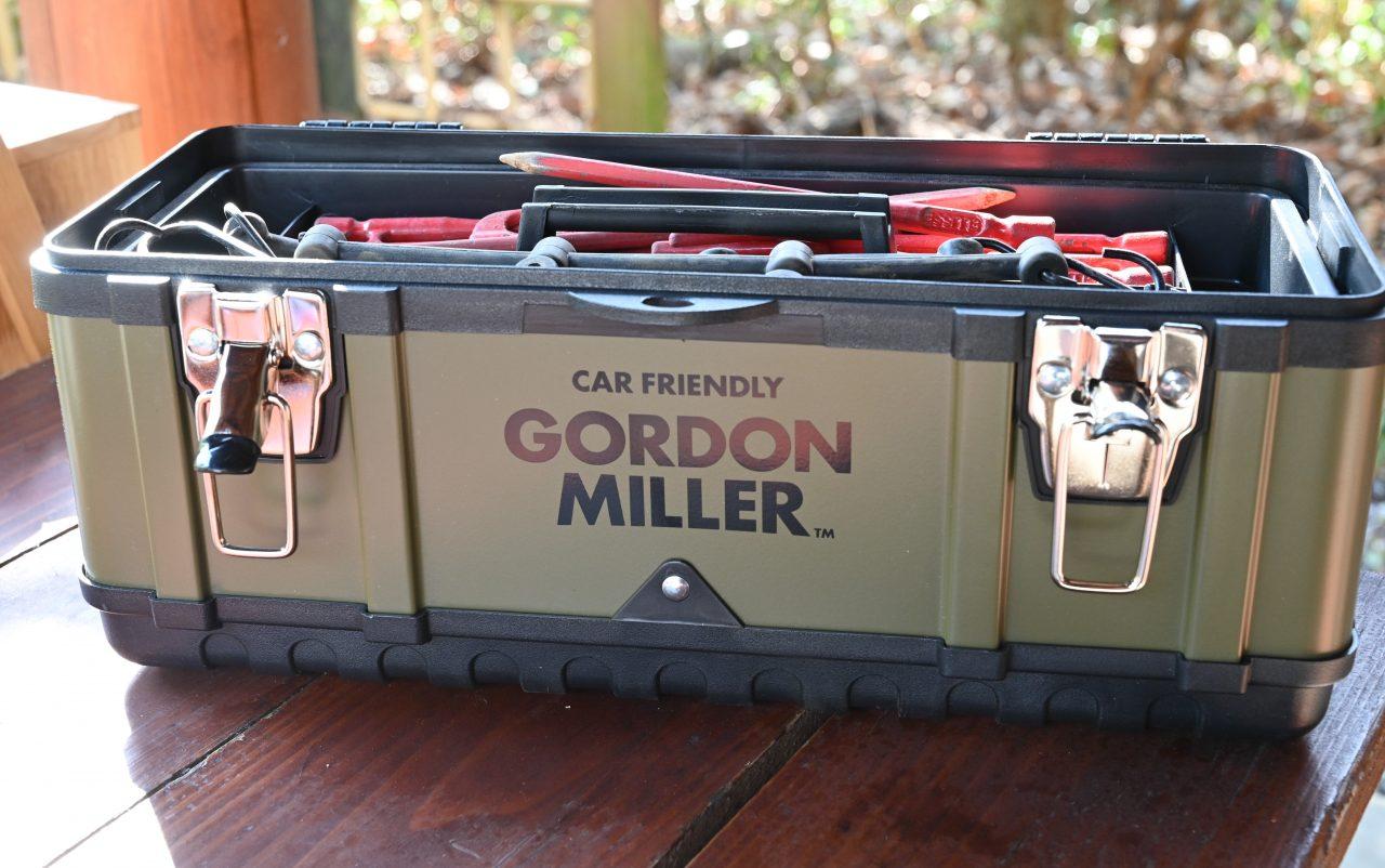 ゴードンミラーのツールボックスをペグケースに流用
