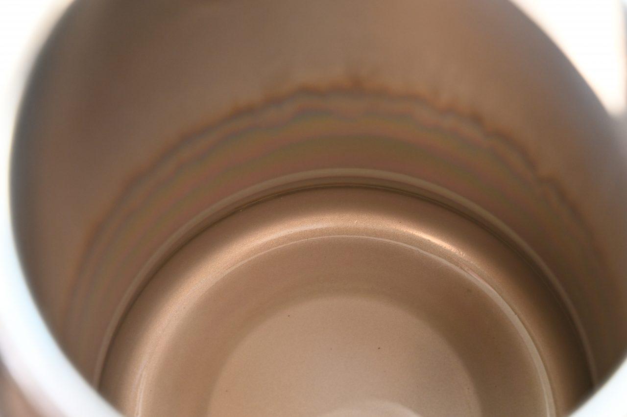 キャンプケトルの内側のカルキをクエン酸で除去