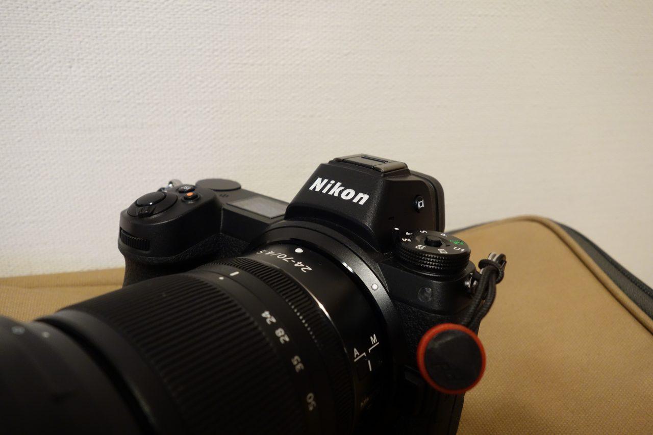 メインカメラはフルサイズミラーレスNIKON Z6
