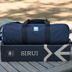 SIRUIのカーボン三脚と自由雲台セット