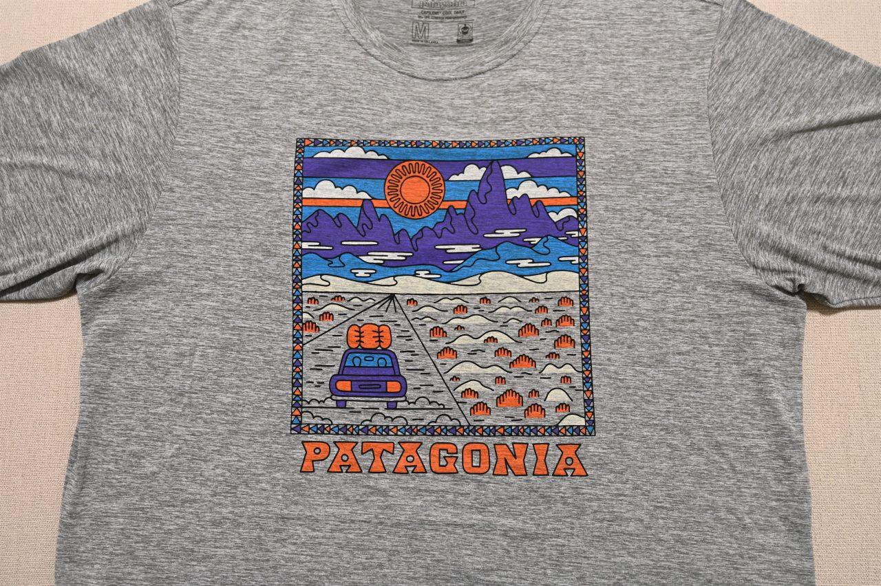 Patagoniaで一番お気に入りかもしれないクールデイリーグラフィックシャツ