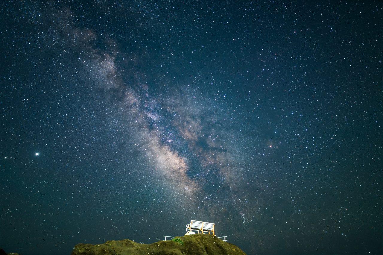 約1年ぶりの野島崎灯台で天の川撮影
