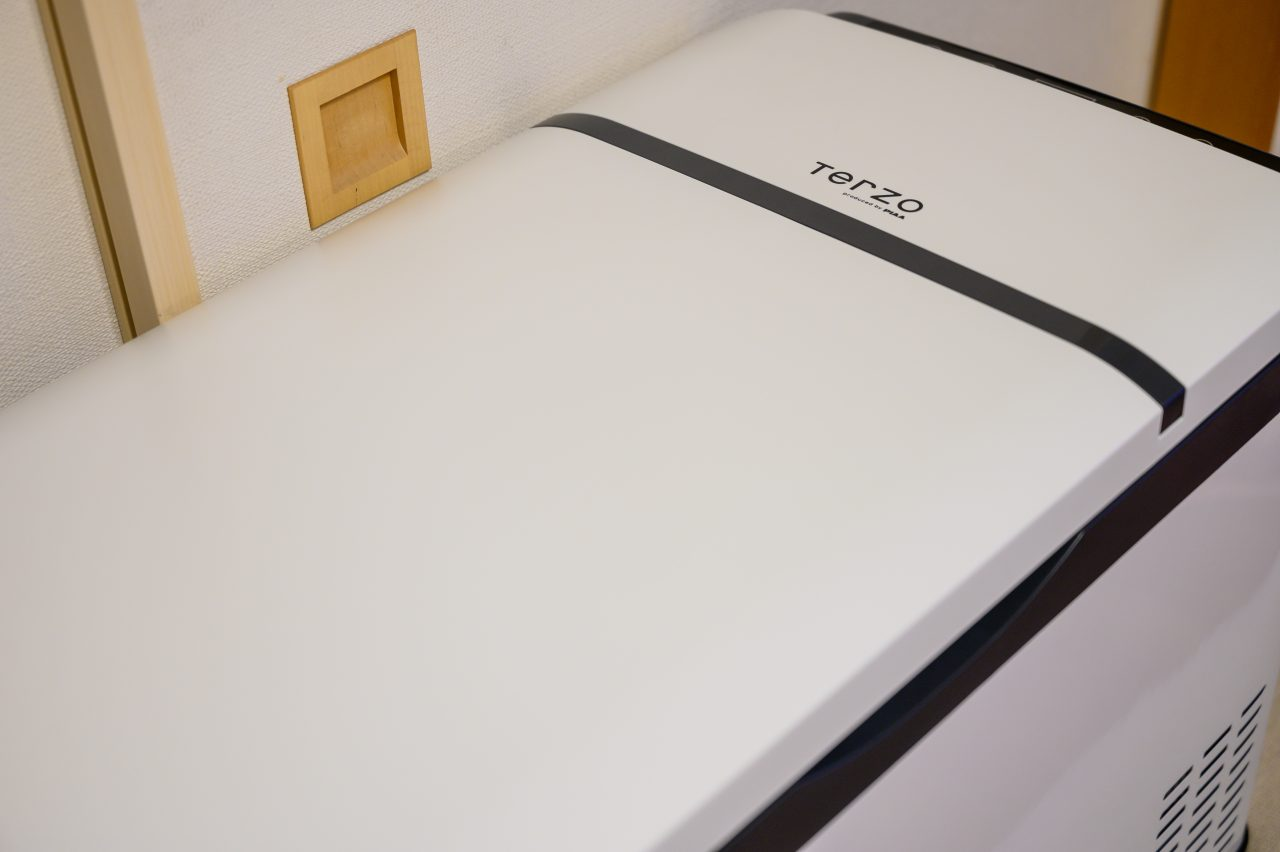 Terzoエクセルクールフロストはシンプルなデザインが好み