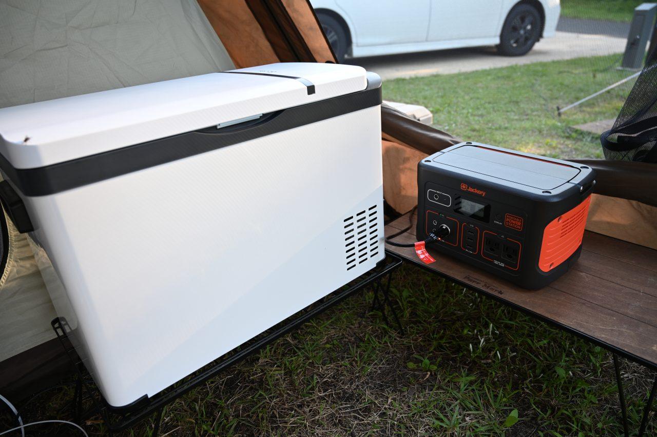 トルテュProとポータブル電源と車載冷蔵庫