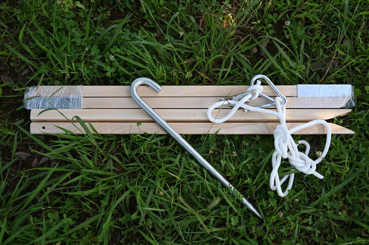 バイヤーの木製ハンモックスタンドの付属品