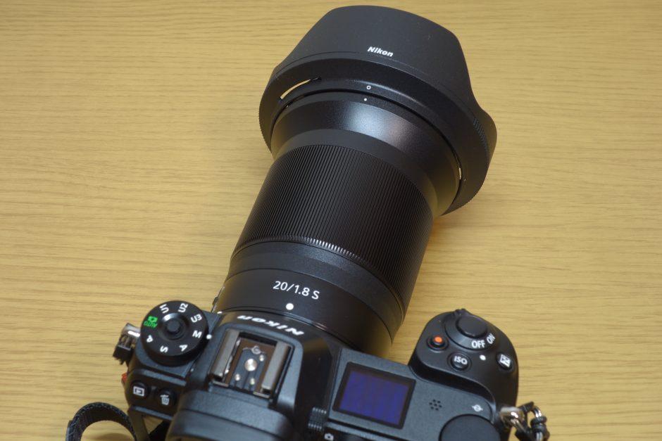 NIKON Z6とNIKKOR Z 20mm f1.8